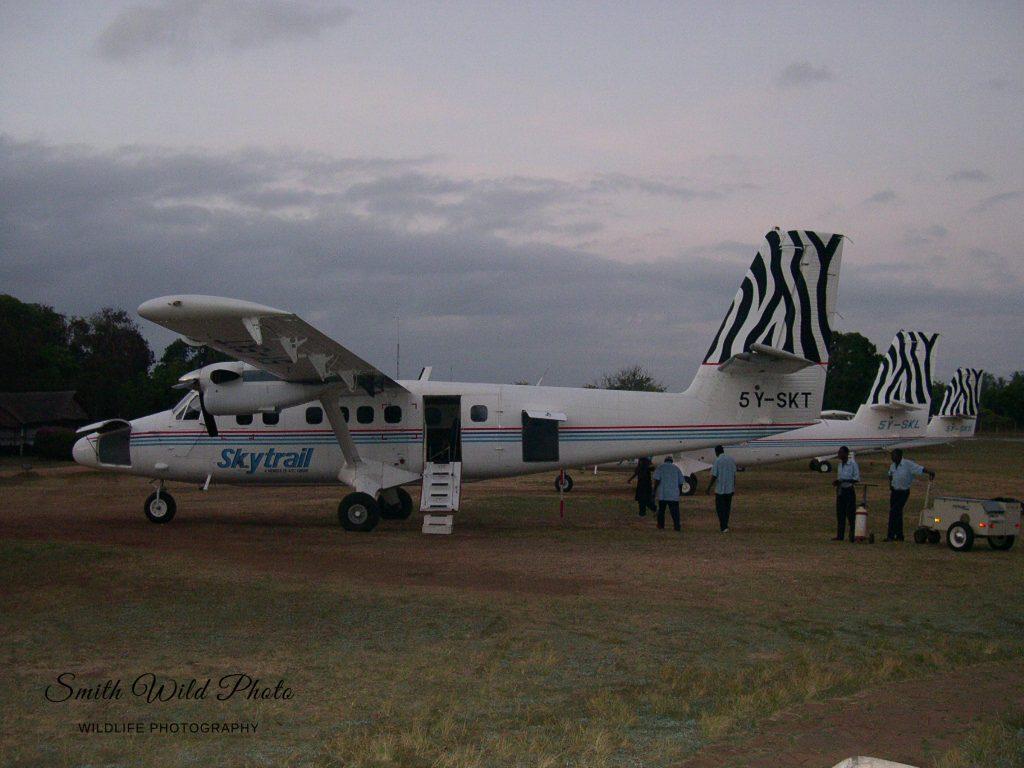 Three light passenger aircraft pre flight checks